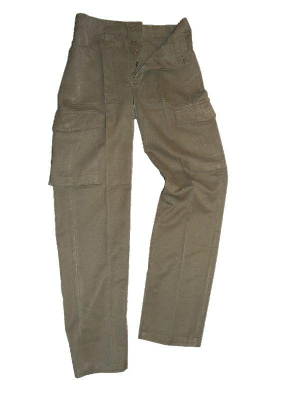 Austrian Military Heavyweight Olive Green Trousers