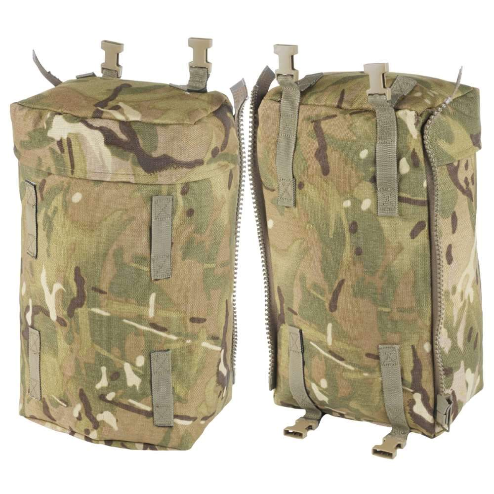 British Military MTP Bergen Side Pouches -Pair