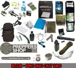 Emergency bug out bag - pro