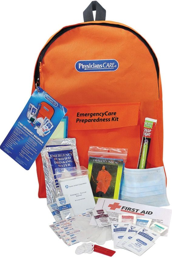 Emergency Preparedness Kit - Orange