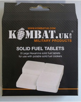 Kombat UK Hexi Tablets (Pack of 8) x 10