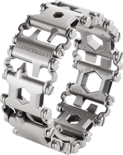 Leatherman Tread - Bracelet & Multi Tool - Stainless Steel