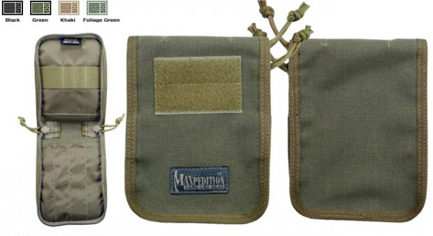 "Maxpedition 4"" x 6"" Notebook Cover - Various Colours"