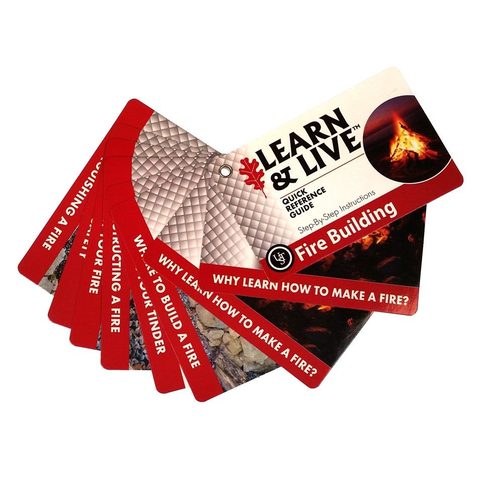 Ultimate Survival Learn & live cards - Fire